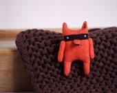 Bandit fox. Pin
