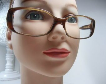 Authentic GUCCI Eyeglasses / Brown tortoiseshell / Made in Italy / No case / Back to School / Eyewear / glasses / GUCCI frames / Designer
