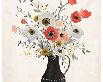 Poppy Print - 11X14