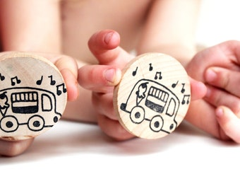 Make a Match Toddler - Transportation Edition - Memory Game inspired by Montessori and Waldorf Methodologies