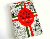 A Cook's Tour of Rome by Doris Muscatine 1964 HCDj / Best Roman Food and Where To Find It / Like-New