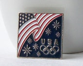 Vintage USA Olympic Pin