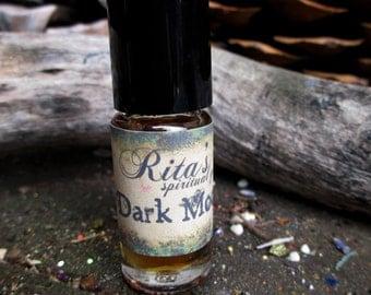 Rita's Dark Moon Hand Brewed Ritual Oil - Release, Retreat, Rest, Soul Searching - Pagan, Magic, Hoodoo, Witchcraft, Juju
