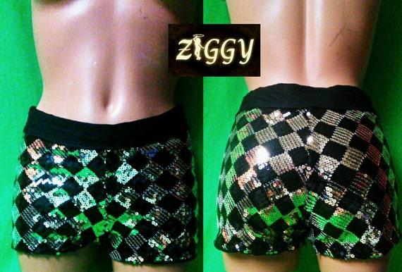 Custom - Sparkle Dance Shorts