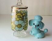 Tiny 1960's Floral Jar