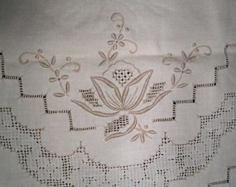 3 beautiful large lace doily table  runners  3 styles