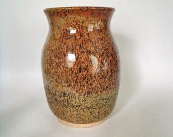 Speckled Cinnamon Vase