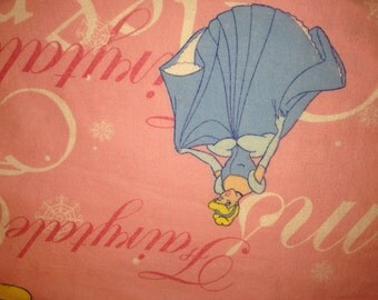 Three Charming Disney's Princesses Cinderella, Belle, and Auora Twin Fitted Sheet