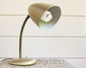 Vintage Mid Century Gooseneck Lamp
