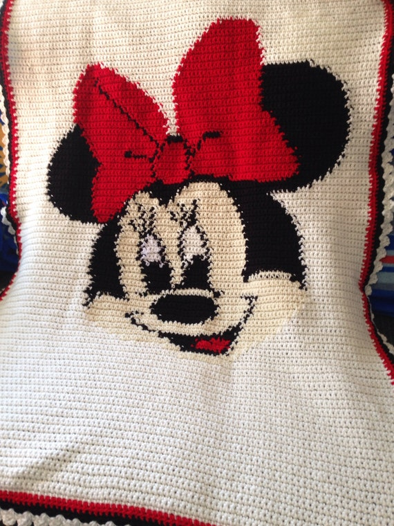 Minnie Mouse Blanket Lap Size Snuggle Size Crib