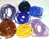 7 Strands of Glass Seed Beads