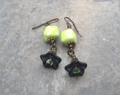 Blueberry Limeade Earrings