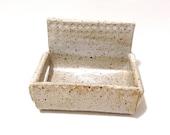 Ceramic Smart Phone Stand, Hand Built Stoneware Clay