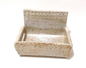 Ceramic Smart Phone Stand, Phone Holder, Hand-Built Stoneware Clay