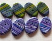 DESTASH -  8 Beautiful Buttons on sale.   2 sets of 4 buttons.