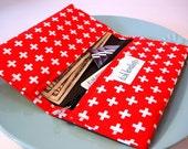 Swiss Army Cross Checkbook Cover
