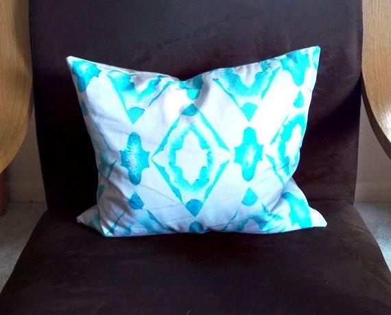 MODERN THROW PILLOW Cover, Modern pillow cover, Geometric Design Fabric, Sofa Pillow cover, Bedroom Pillow cover, Large Lumbar Shape Pillow
