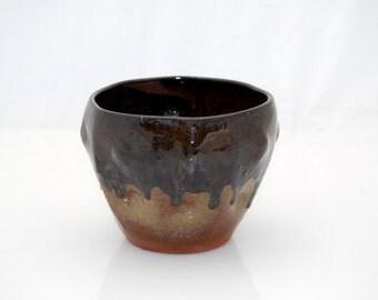 ceramic wheel thrown vase  bowl