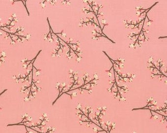 SALE!  Blossoms in coral pink ... Kate and Birdie ... Storybook