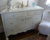 Chest of Drawers V I N T A G E Dresser Poppy Cottage PAINT to Order Painted Furniture