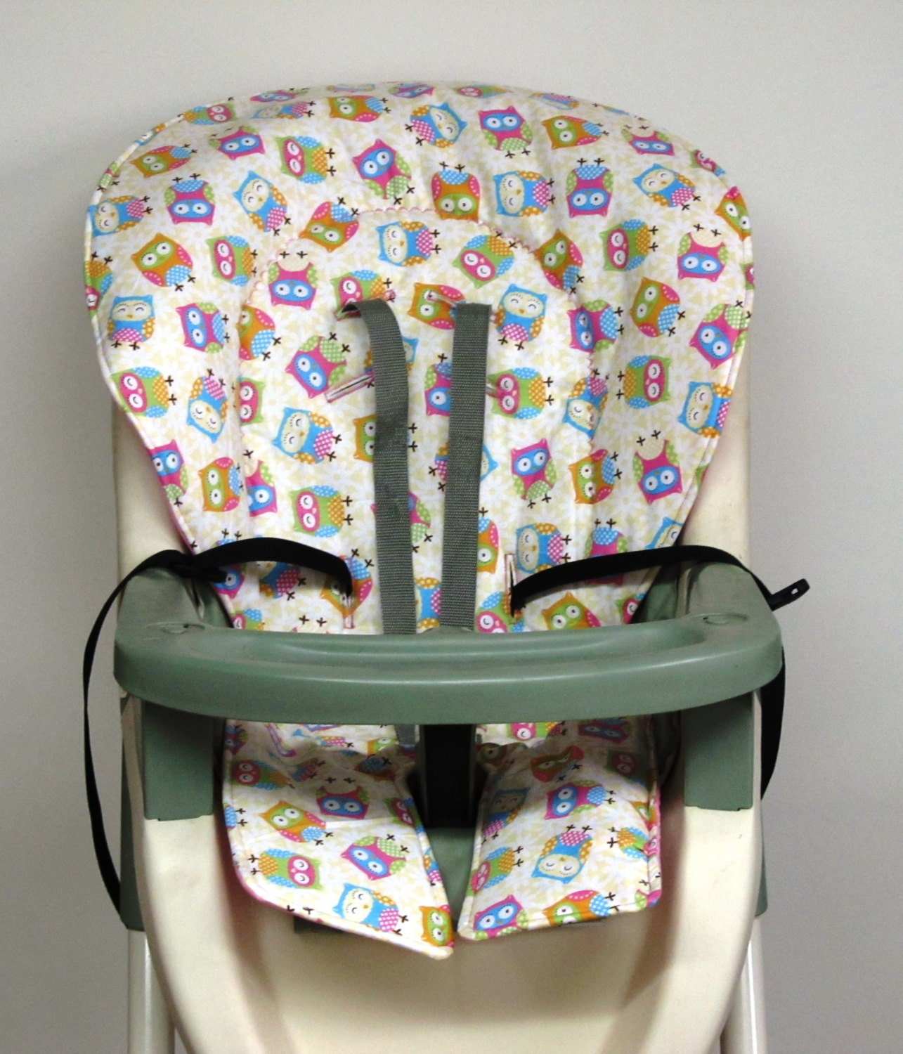 Graco High Chair Cover Pad Replacement Girly Owls