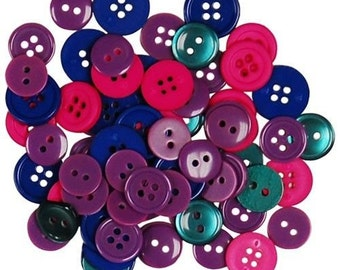 Favorite Findings Flatback Buttons 423----Jewel----New in Package