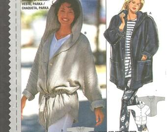 Burda 0002 Hoodie Jacket 10-20 sizes FF