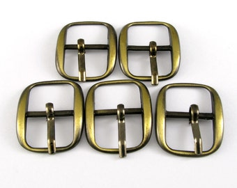 Antique Brass Small Buckle Findings
