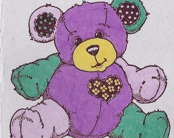 Happy Huggable Bear-choice of color and choice of type