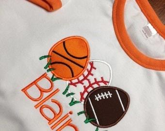 Boys Sports Easter Egg Shirt - Personalized Boys Easter Egg Shirt - Easter Shirt for Boys