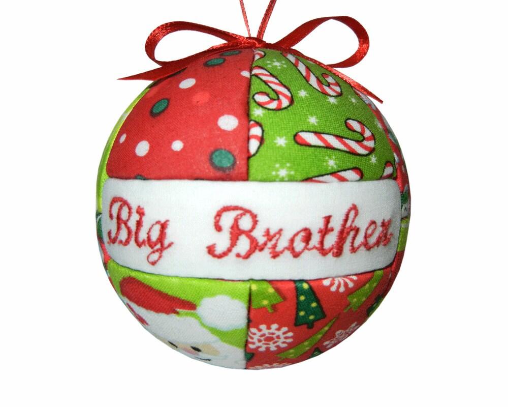 Superb Big Brother Christmas Ornament Part - 14: Details. Big Brother Christmas Ornament!