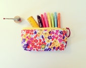 Custom order for Patsy Zippered Pencil Case