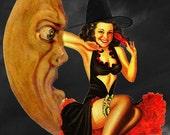 Black Magic Woman Perfume Oil - Devil's Foodcake, Blackberry Brandy, Plum Incense, Amber, Black Roses