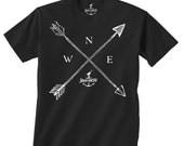 INDIAN ARROWS -- KIDS T shirt -- Size 2t, 3t, 4t, youth xs, yth sm, yth med, yth lg skip n whistle