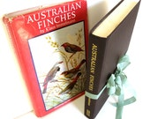 Australian Finches in Bush and Aviary by Klaus Immelmann. Paintings by Neville W. Cayley Ornithology HB DJ