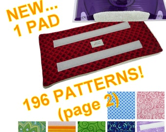 1 PAD (Page 2 of 3 for 196 Patterns), Reusable Swiffer Wet Jet pad, Fabric, Velrco, WetJet Pad Terry Cloth EcoSwift EcoGreen Swifter Pads