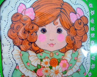 Learn to Sew 1980s Sweet Susannah Pillow Kit