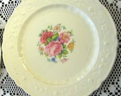 Vintage Homer Laughlin 1930-1940 Set of 2 Dessert Plates or Bread& Butter Plates Nice!