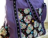 The UPSIZED Expedient Weekender or Diaper Bag- FIERCE Custom