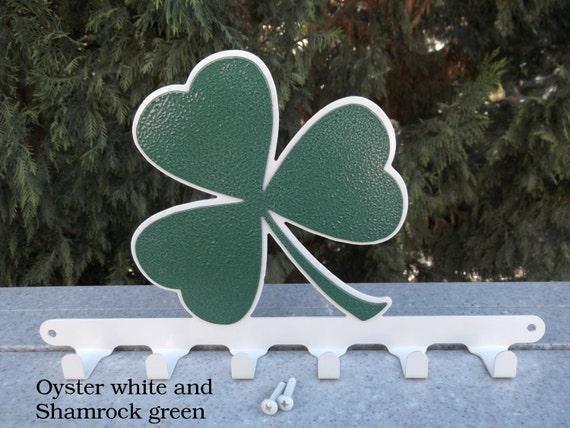 Three Leaf Clover Shamrock Irish St Patrick Ireland Metal