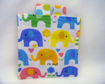 PK T-T-Toe On The Go - Elephants on Parade - Mini Game - Tic Tac Toe - Travel Game - Ready To Ship