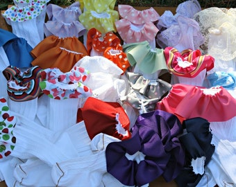 Girls Boutique Ribbon Ruffle Knee Socks