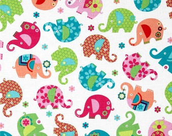 Custom Boutique TWIN (Elephant Parade) Shopping Cart Cover -comes with a pillow and a safety belt