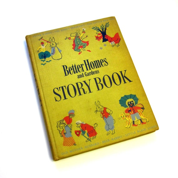 Better Homes and Gardens Storybook 1950 HC / 1st Ed Including Little Black Sambo