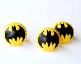 Batman Cupcake Toppers (set of 12)