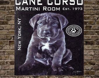 Cane Corso Martini Room