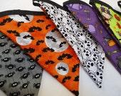 Halloween Banner-Halloween Bunting-Halloween Garland-Witches-Bats-Skeleton-Spiders-Owls-Orange-Black-Decor and Party