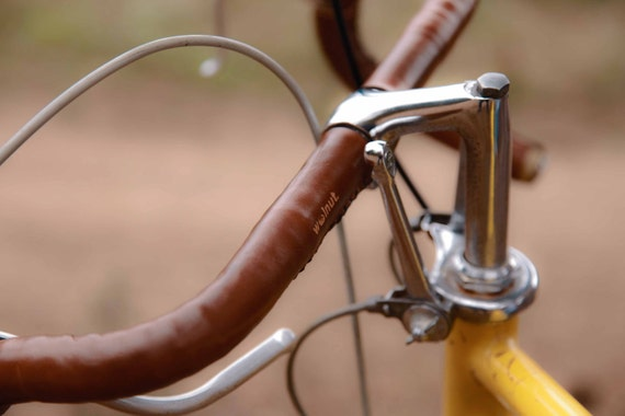 Sew-on Bar Wraps - Leather Bicycle Handlebar Wraps