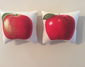 Red Apple Pillow Magnets