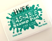 Washable Christmas Green Ink Stamp Pad from Hampton Arts